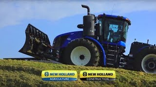 New Holland T9 Auto Command™ Tractors with CVT