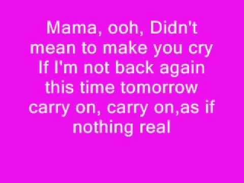 Queen - Bohemian Rhapsody With Lyrics