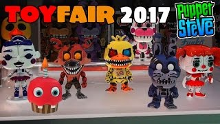 Five Nights at Freddy's FNAF TOY FAIR 2017 Funko POP Series 2 Sister Location First Look! Coverage