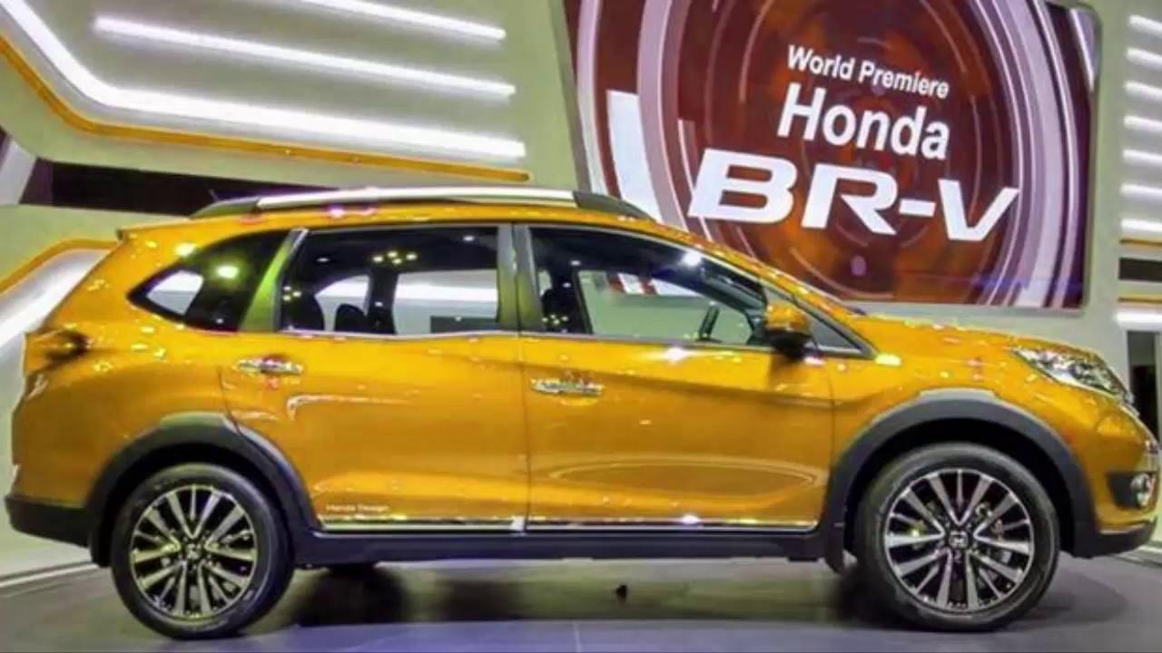 2017 All New Honda BRV | Exterior and Interior - YouTube