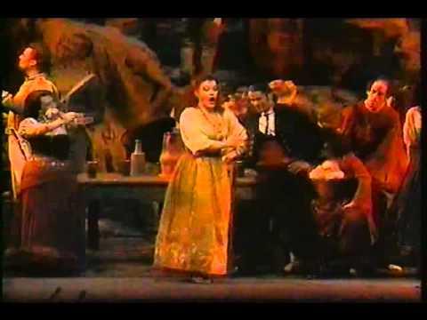 Bizet's Carmen, Gypsy Dance scene, with Waltraud Meier