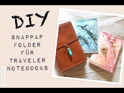 DIY SnapPap Folder für Travelers Notebook | deutsch | filolove_