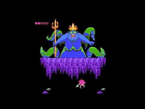 Русалочка Dendy / NES - Прон Edition. Прохождение с комментами.