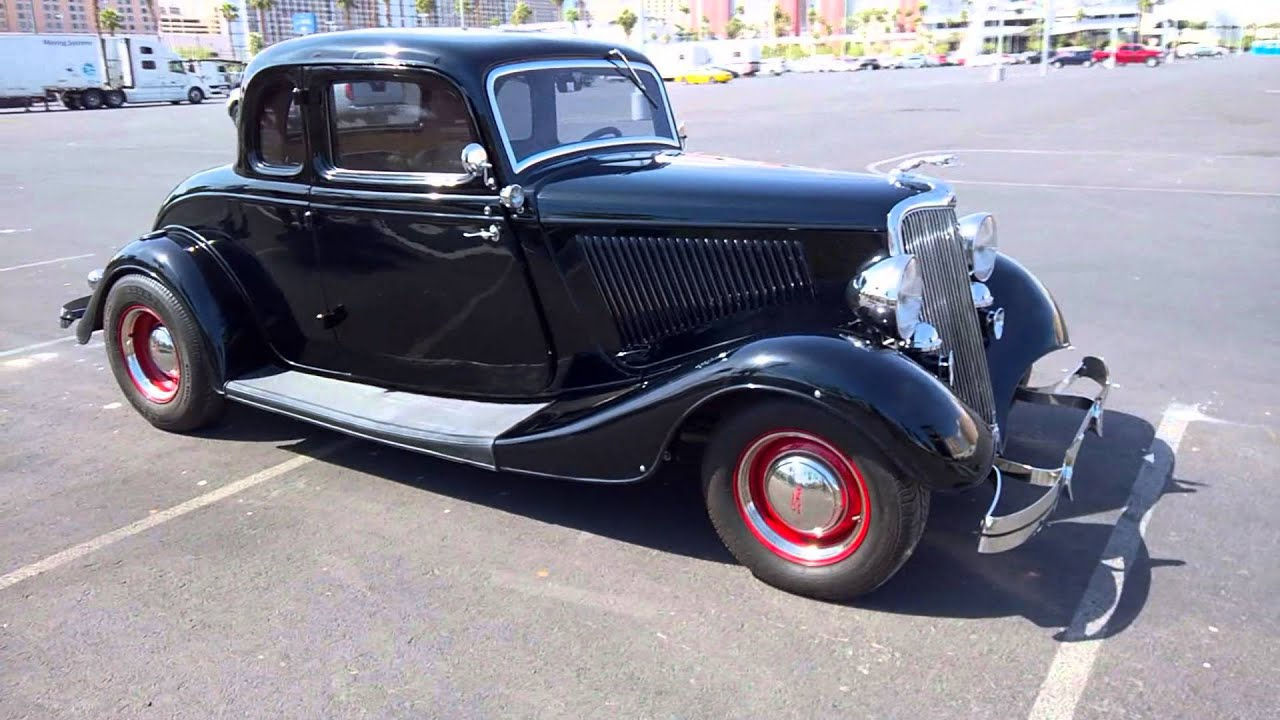 1934 ford custom 5 window coupe youtube for 1934 5 window coupe