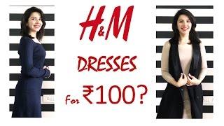 H&M Dresses For ₹100?   Heli