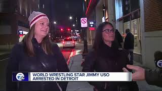 World Wrestling star Jimmy Uso arrested in Detroit