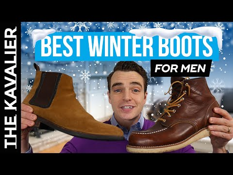 The Best Winter Boots For Guys (Business Casual Style)