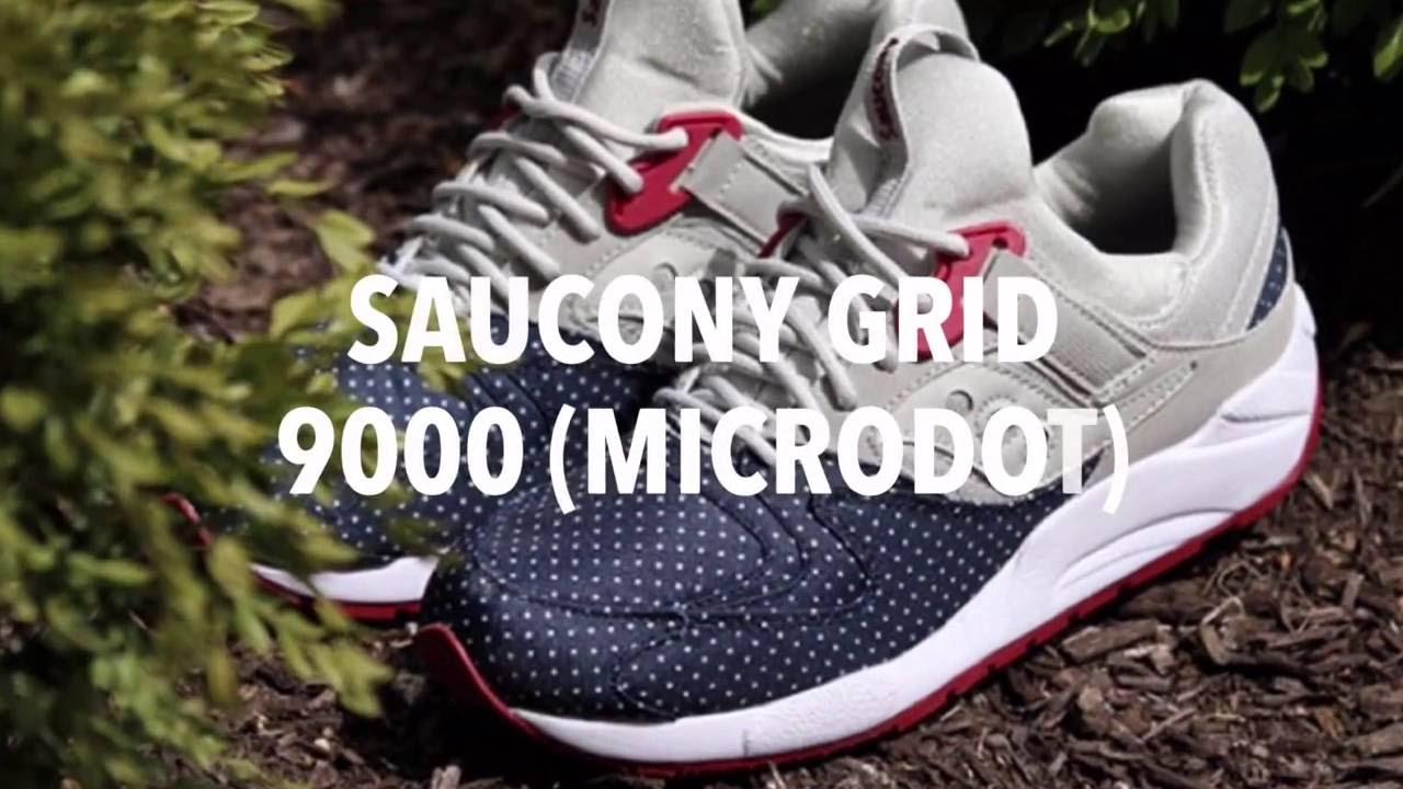saucony grid 9000 microdot