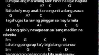 ERASREHEADS - HULING EL BIMBO lyrics w/ guitar chords