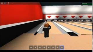 Bowling at Pacific lanes AMF Pinspotters on ROBLOX