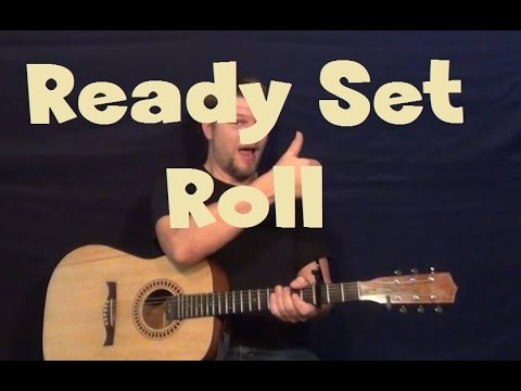 Ready Set Roll (Chase Rice) Easy Guitar Lesson How to Play Tutorial