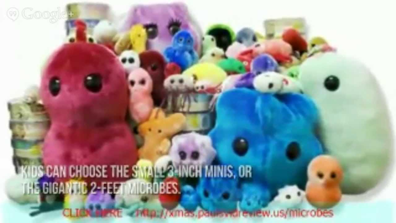 toy review giant microbes large stuffed animals stuffed animals for sale youtube. Black Bedroom Furniture Sets. Home Design Ideas
