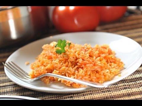 Arroz rojo  Mexican rice  Recetas de cocina mexicana
