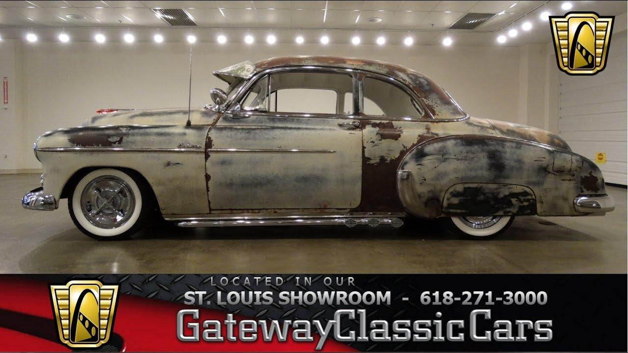 1950 chevrolet styleline deluxe stock 6684 gateway classic cars st louis showroom [ 1280 x 720 Pixel ]