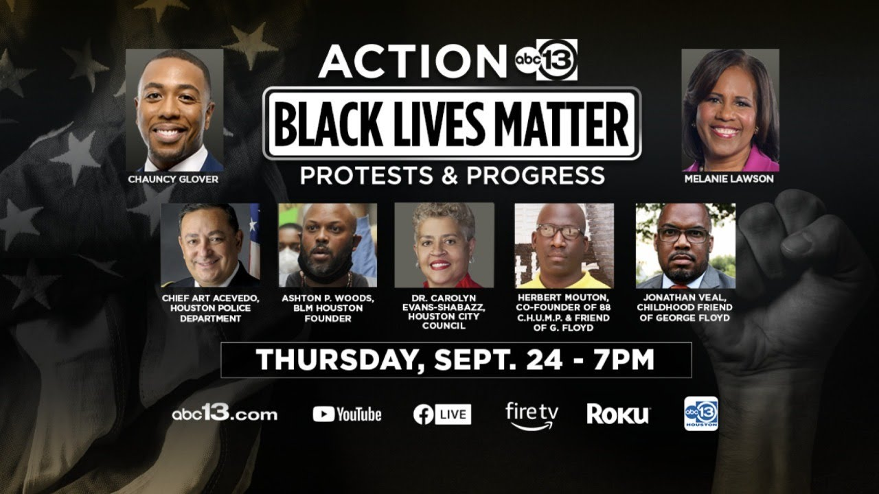 Black Lives Matter: Protests & Progress town hall on ABC13