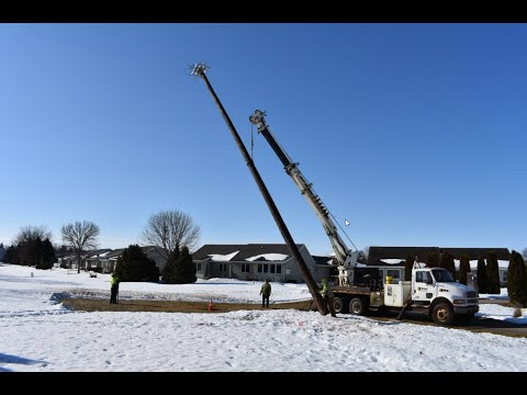 ATC, City of Stoughton, Stoughton Utilities and Hooper Corp. replace local osprey nest