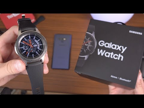 Samsung Galaxy Watch Unboxing!