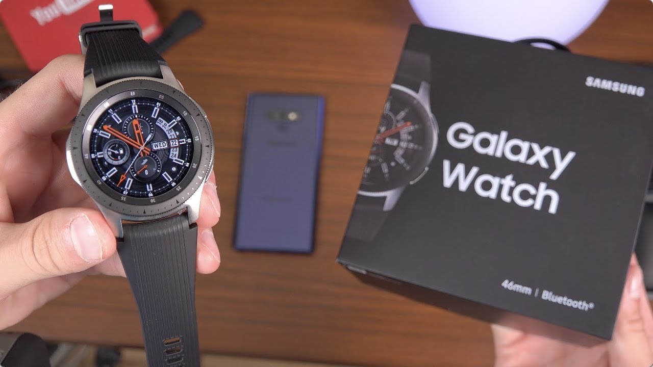 Kết quả hình ảnh cho Samsung Galaxy Watch unboxing: My first impressions for you