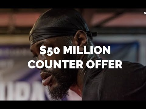 DEONTAY WILDER MAKES BIG TIME $50MILLION COUNTER OFFER TO ANTHONY JOSHUA
