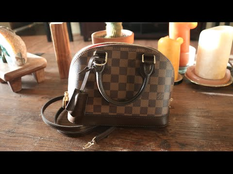 b40997bad306 Louis Vuitton Unboxing  Alma BB Review - YouTube