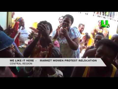 We like it here - Kotokoli market women protest relocation