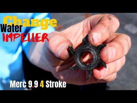 How to Change Water Impeller Mercury 9.9 4 Stroke