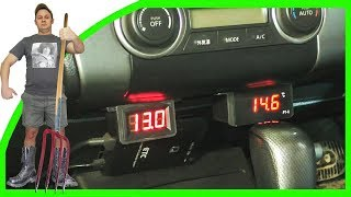 Цифровой Термометр Тест-Драйв(Установка цифрового термометра. Тест-Драйв Видео https://www.youtube.com/watch?v=SbyZfbydhUk Канал ..., 2015-03-08T16:42:09.000Z)