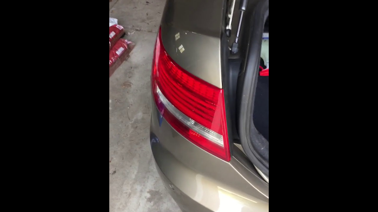 an easy fix for intermittent tail light issues on audi a6 c6 [ 1280 x 720 Pixel ]