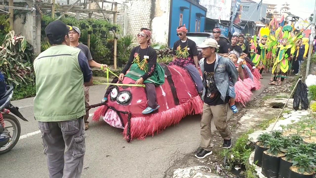 Festival desa cihideung kab. Bandung barat - YouTube