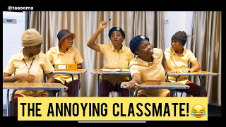 THAT ONE STUDENT IN CLASS // TAAOOMA