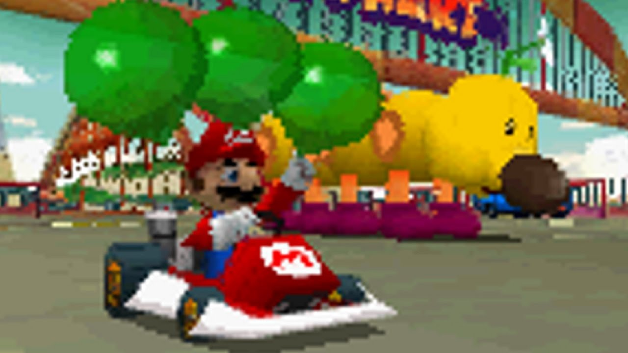 how to get 3 stars in mario kart ds missions