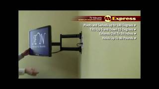 Swivel LCD TV Wall Mount Bracket | AV-Express Review