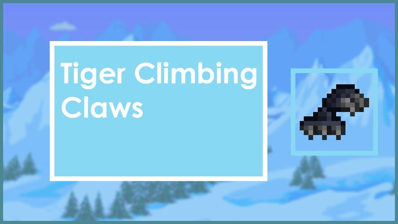 How to: Tiger Climbing Gear - Terraria - YouTube