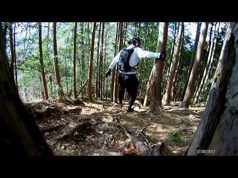 太平山おおひら山ハイキング・トレイルランニング報告20171230