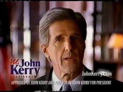 John Kerry 2004 Presidential Commercial