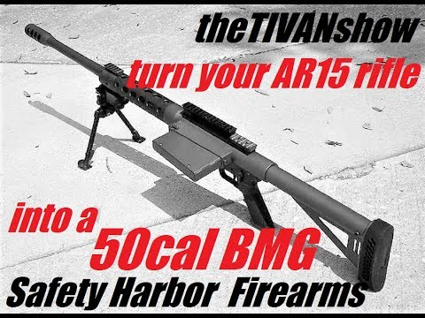 Build YOUR AR15 into 50 CAL BMG with Walter from Safety harbor firearms