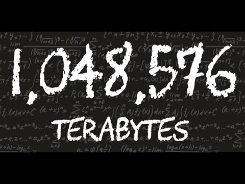 What is even bigger than a Terabyte?