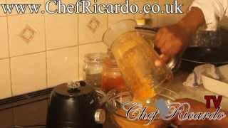 WORLD NEWS ONE OF THE BEST JAMAICAN HOME MAKE JERK CHICKEN  RECIPES FROM CHEFRICARDO