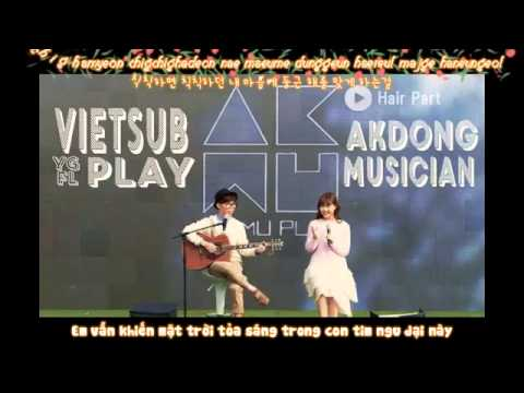 [Lyrics+Vietsub] Hair Part - Akdong Musician