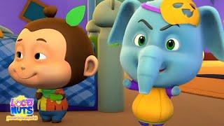 Cтрашно бу бвах   Xэллоуин для детей   Детские стишки   Loco Nuts   Pусские песни для детей