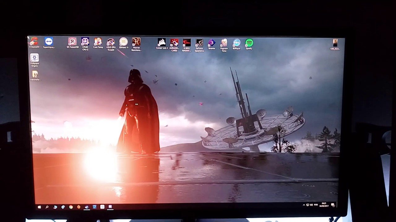 Wallpaper Engine Star Wars 3 Monitors Youtube