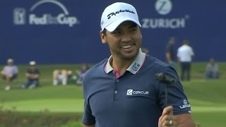 Jason Day rams it in from long range at Zurich