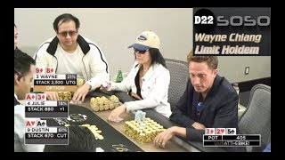 "Live at the Bike $30/$60 LHE - ""ONE TIME!??"" - Limit Holdem @ Bicycle Casino"