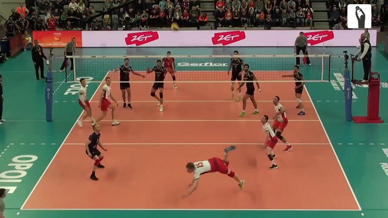 [Men's Club WC 2017] ZAKSA Kędzierzyn Koźle - Sarmayeh Bank Teheran VC 3:2 HIGHLIGHTS #1