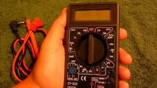 Мультиметр DT 830