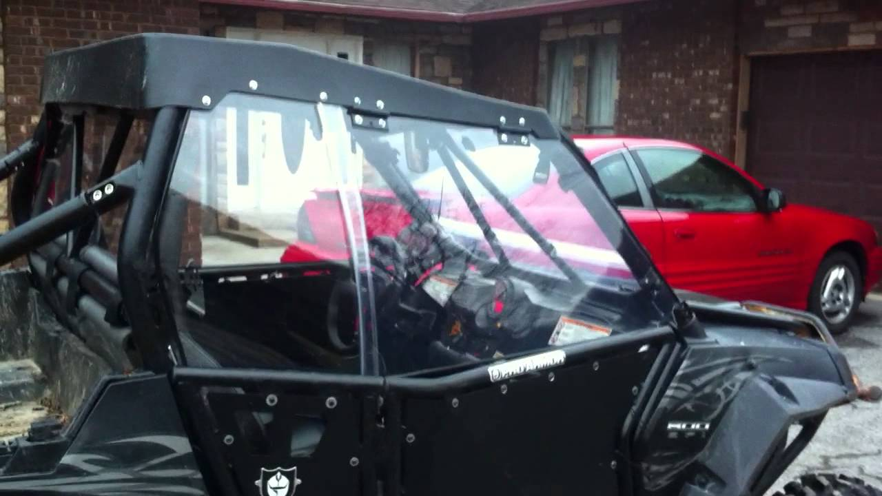 Rzr custom windows for my pro armour doors youtube for Side by side plans