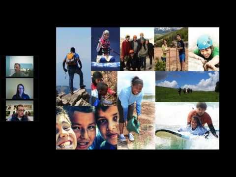 Webinar Best Practice Outdoor Youth Development Programs 11/15/2016