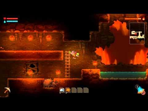 SteamWorld Dig_first game play  
