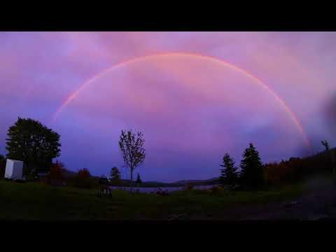 time lapse rainbow gopro