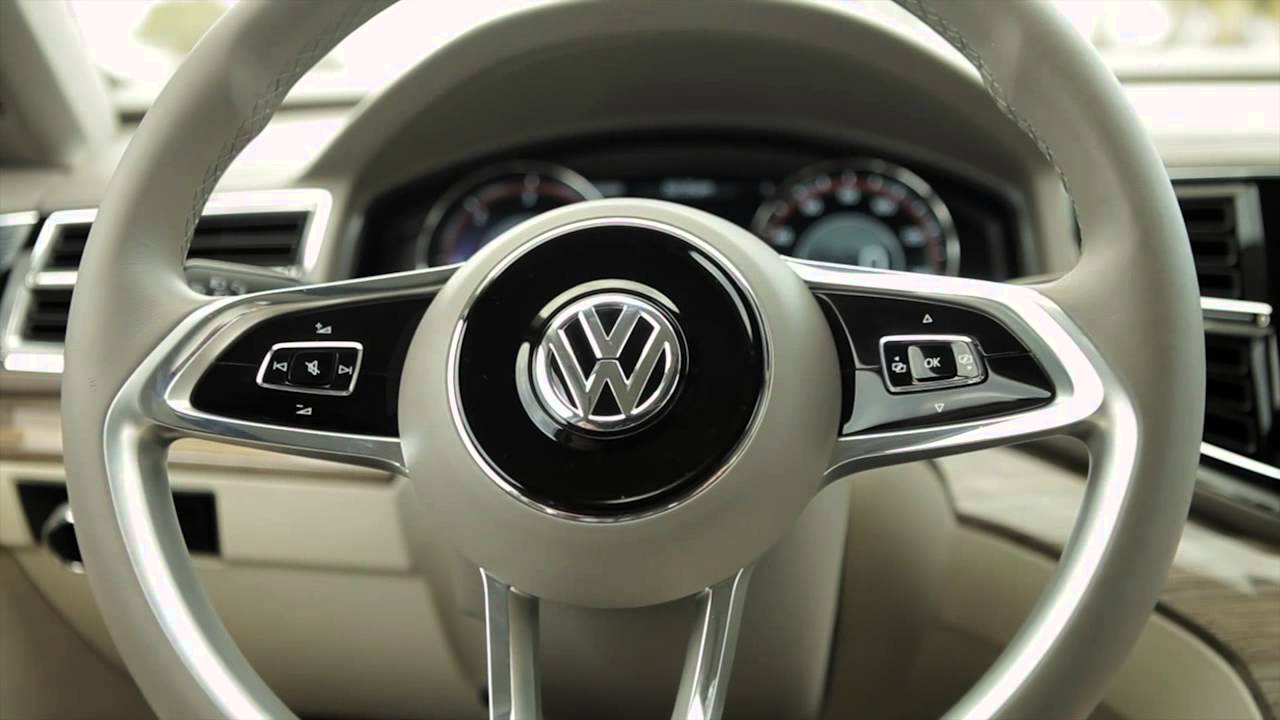 Concept: VW Cross Blue, Diesel Hybrid - US Market in 2016! - YouTube